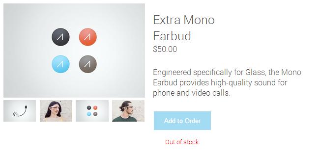 Glass-Mono-Earbud