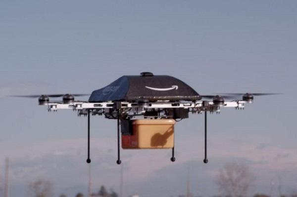 беспилотные дроны от Amazon