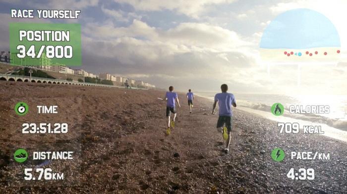 Google Glass Race Yourself