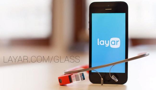 приложение Layar для Google Glass