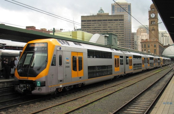 Мельбурн. Пригородные электропоезда