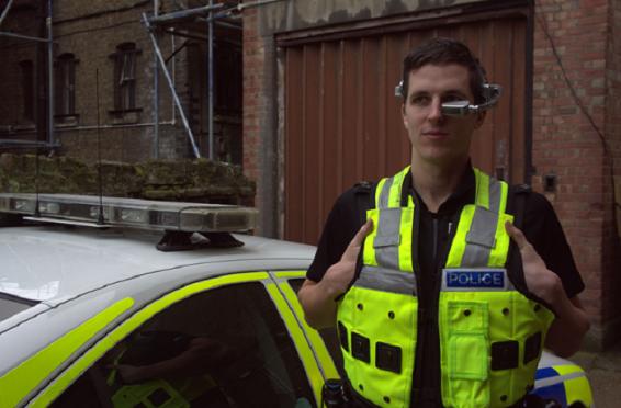 полиция тестирует Google Glass